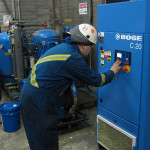 Programming Set Points on Boge Air Compressor